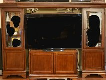 Solid Wood Entertainment Center in Biloxi, Mississippi