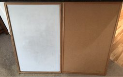 Dry erase, cork board set in The Woodlands, Texas