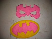 Batgirl mask and patch in Fort Campbell, Kentucky