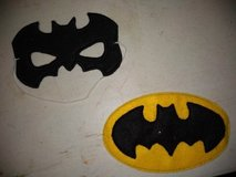 Batman mask & patch in Fort Campbell, Kentucky