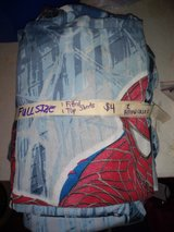 Full size Spider-Man sheet set in Fort Campbell, Kentucky