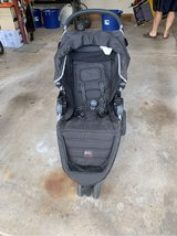 Britax B-Agile Black Stroller with Car Seat Adapter in Chicago, Illinois