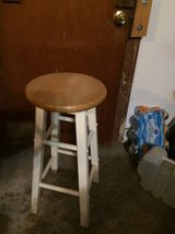 BAR STOOL WOOD WHITE in The Woodlands, Texas