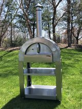 Largo Professional Stainless Steel Wood Burning Pizza Oven with Stand in Fort Drum, New York