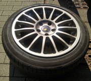 17 inch wheels with summer tires in Wiesbaden, GE