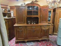 Antique Cabinet Buffet Walnut Dining Cabinet Baroque Style in Ramstein, Germany