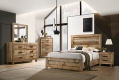 United Furniture - Gobi Bedroom Set complete with Silver (Basic) Mattress and Delivery in Spangdahlem, Germany