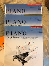 Piano Adventures FABER - books 2A, 2B, 3A, 3B in Kingwood, Texas