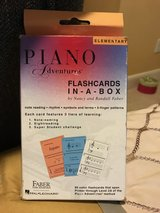 Piano flash cards in Kingwood, Texas