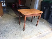 antique wooden table in Quantico, Virginia