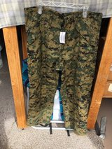 NEW USMC CIF Issued Woodland Goretex Trousers Size LS in Camp Pendleton, California