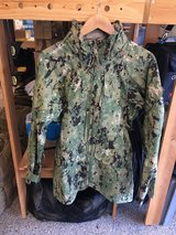 NEW NAVY Issued AOR2 Woodland Goretex Jacket Size Small Regular NWU in Camp Pendleton, California
