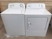 Amana washer and Whirlpool electric dryer in Alamogordo, New Mexico