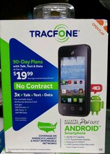 Tracfone Alcatel Pixi Glitz Smartphone with 2388 Minutes, 2499 Text, 500mb Data and 30 Days in Alamogordo, New Mexico