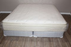 King Size Mattress and Box Springs in Kingwood, Texas