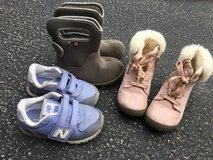 Toddler girl  size 8 shoes and boots! in Naperville, Illinois