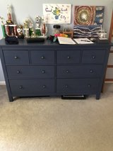 Blue dresser with 8 drawers in Bolingbrook, Illinois