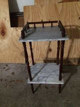 Marble plant table or stand in The Woodlands, Texas