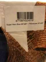 Snurk Super Hero Blue Bedding Twin NIP in Kingwood, Texas