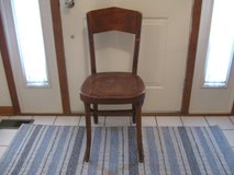 Vintage Wood Chair in Joliet, Illinois