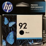 HP 92 ink NEW Sealed in Bolingbrook, Illinois