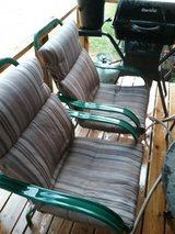 Pair of Patio Chairs w/ Cushions in Warner Robins, Georgia