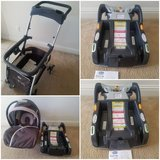 Chicco keyfit 30 infant carseat, bases, and caddie stroller in Camp Pendleton, California