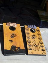 Custom cornhole boards in Camp Lejeune, North Carolina