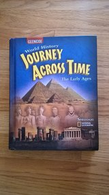 world history journey across time the early ages for social studies 6th grade book in Joliet, Illinois