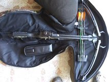 Barnett jackal crossbow with case and accessories in Clarksville, Tennessee