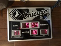 New White Sox Scoreboard - Indoor/Outdoor Time - Date - Temperature -  Brand New in Box in Glendale Heights, Illinois