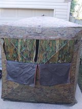 Hunting blind. in Fort Campbell, Kentucky