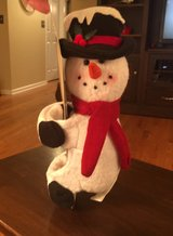 Snowman Wine Bottle Holder in Shorewood, Illinois