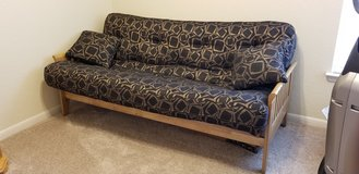 Nearly new innerspring futon with frame in Fort Lewis, Washington