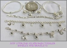 Baby/Toddler (.925F Sterling Silver) BRACELETS in Okinawa, Japan