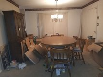 Dinette set with 6 chairs in Clarksville, Tennessee
