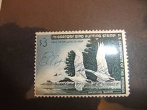 Federal and State Migratory Bird Stamps in Cherry Point, North Carolina