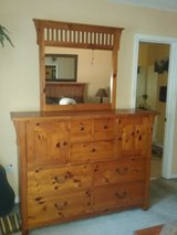 Complete Solid Wood Bedroom Set in Eglin AFB, Florida