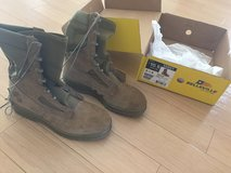 Military  Steel Toe Boots 10.5 (Never worn) in Okinawa, Japan