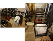 Table Saw Outfeed Roller Table in Oswego, Illinois
