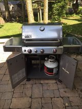 Weber Genesis Stainless Steel LP Gas Grill in Bolingbrook, Illinois
