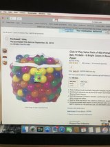 5 Pc Kids Ball Pit Tent and Balls in Kingwood, Texas