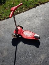 Radio Flyer scooter in Chicago, Illinois