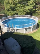Free above ground pool in Bolingbrook, Illinois