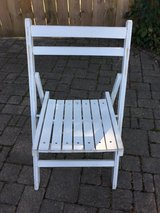 Sturdy Wooden Folding Lawn Chair in Westmont, Illinois