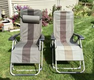 Patio Reclining Lounge Chairs in Oswego, Illinois