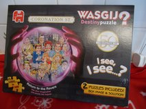 Wasgij Cornation Street Edition  x 2 Puzzles in Lakenheath, UK