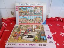 London and Puss n Boots Puzzles in Lakenheath, UK