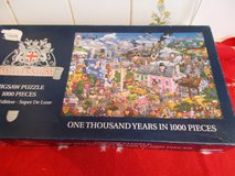 Millenium 1000 Years Puzzle in Lakenheath, UK