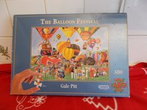 Balloon Festival Puzzle with large pieces in Lakenheath, UK